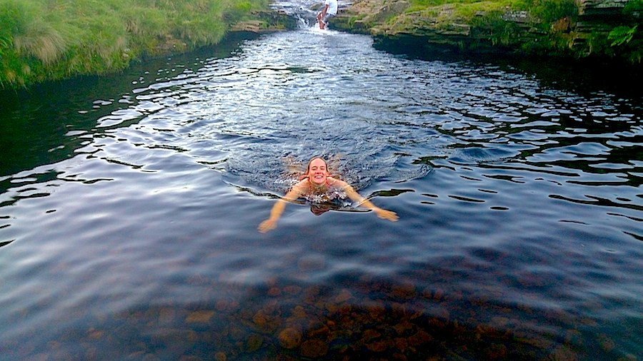 Wild swimming in the Peak District | Outdoor Adventure Motivational Speaking | Hetty Key | Mud, Chalk & Gears